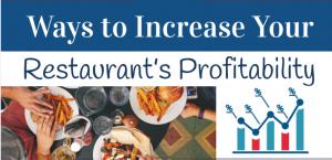 Ways to Increase Your Restaurant's Profitability