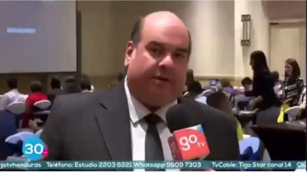 Carlos Sedano was interviewed by regional news network